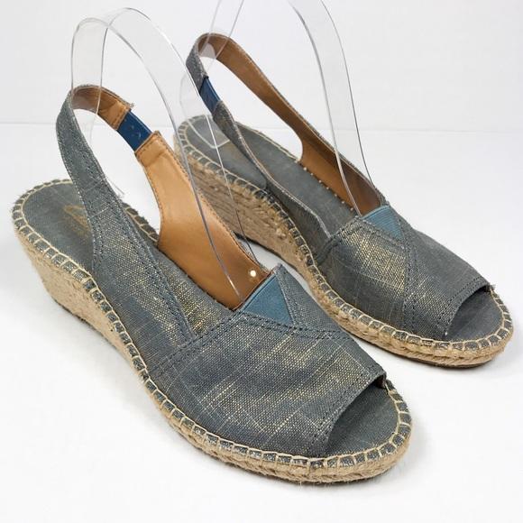 be157c2c10e Clarks Shoes - Clarks Artisan Petrina Rhea Blue Sandals Size 8